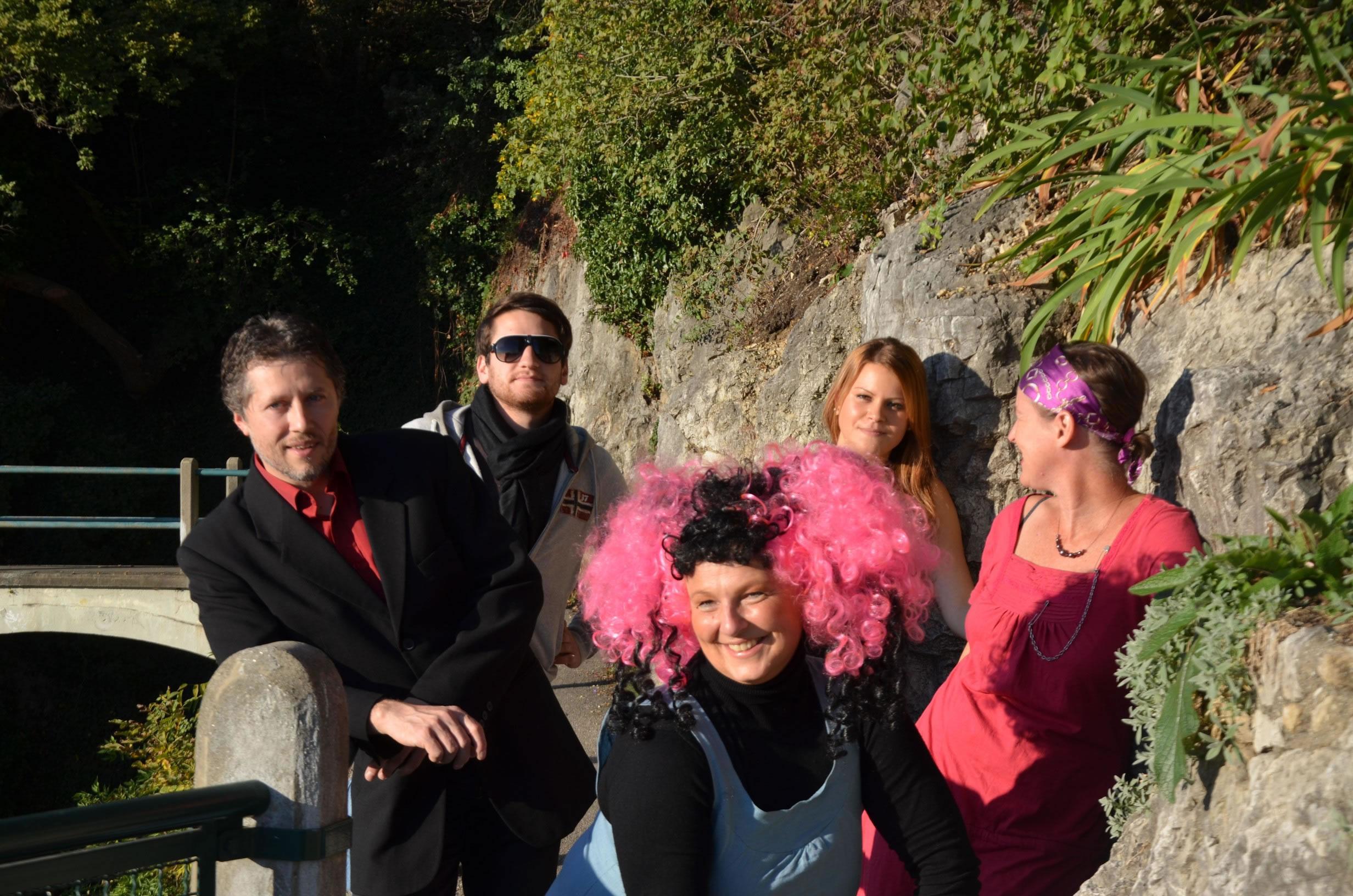 Betty Baloo Bande am Grazer Schlossberg