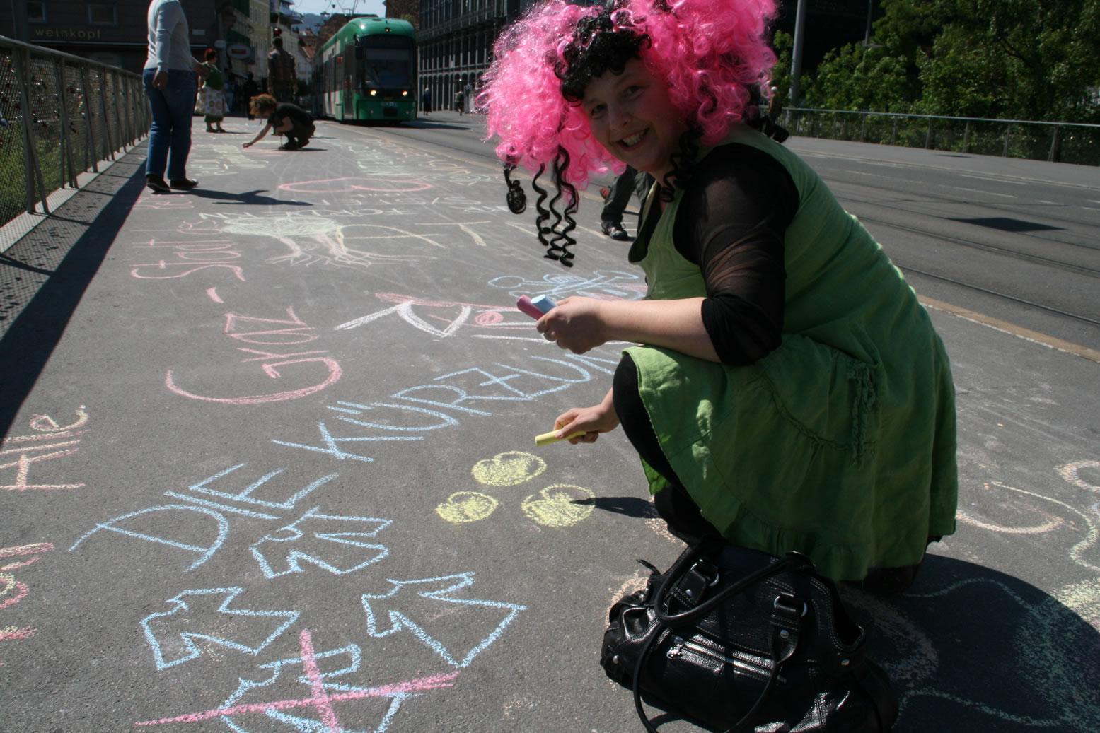 Zeichnen gegen Kürzungen: Betty Baloo